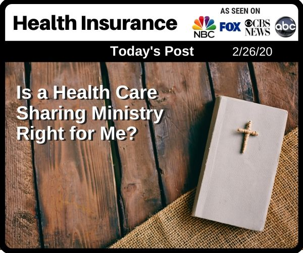 Post - Is a Health Care Sharing Ministry Right