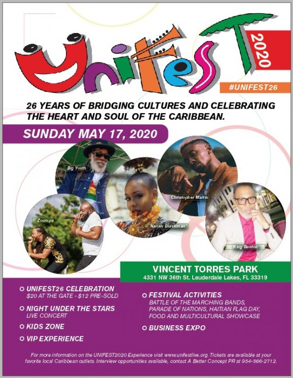 UNIFEST 2020 - Vincent Torres Park