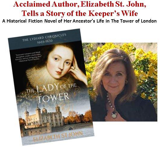 Author Elizabeth St John Visits Kansas City
