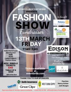 Flier Fashion Show 2 28 2020