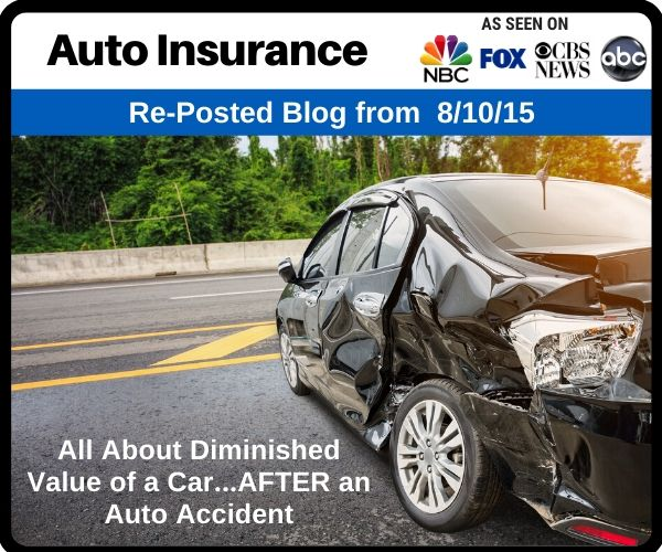 RePost - All About Diminished Value of a Car