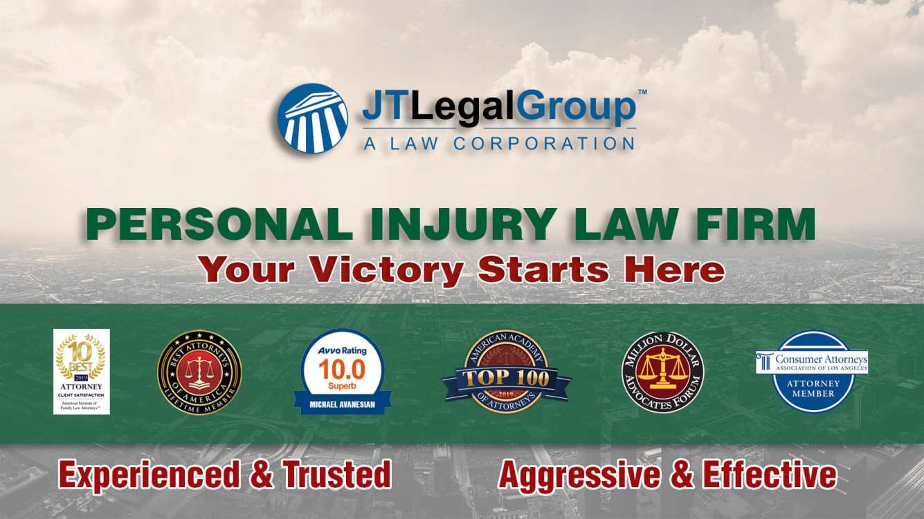 JT Legal Group, Los Angeles Personal Injury Attorneys Open ...