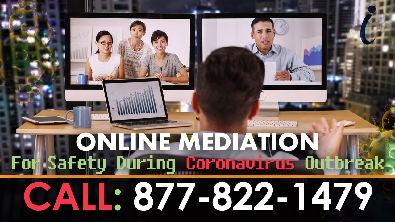 Online Mediation For Safety During Coronavirus