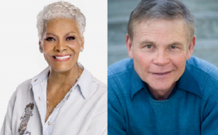 Left to right - Dionne Warwick, Bruce Garrick
