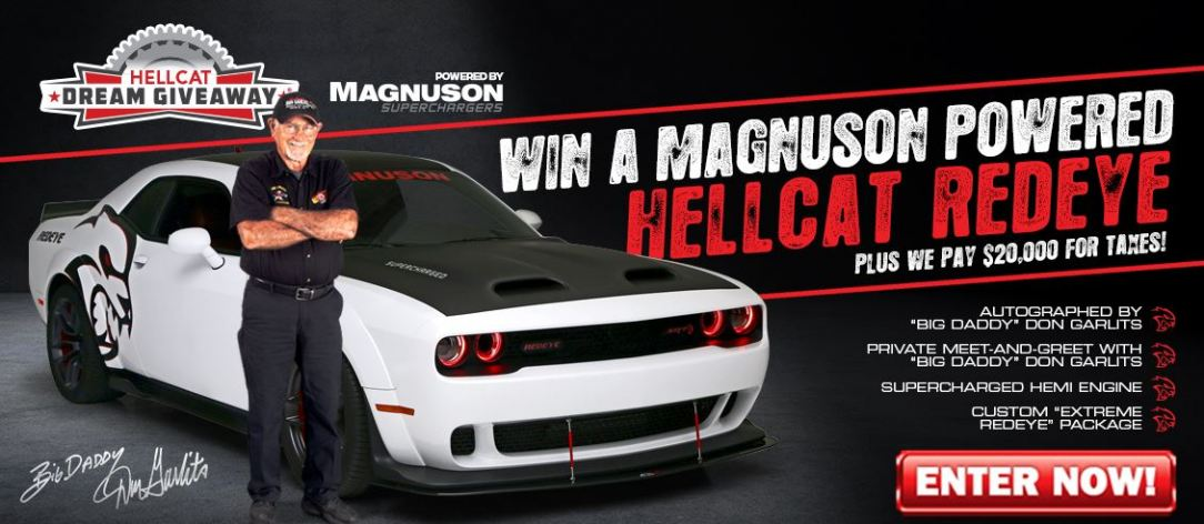 Help Charities and Enter to Win the Hellcat Redeye
