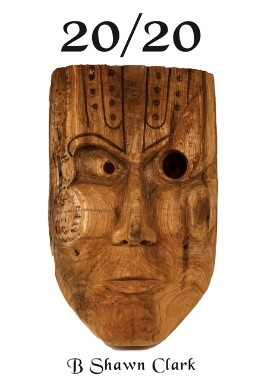 (IMAGE OF THE CARVED MASK APPEARING ON THE COVER)