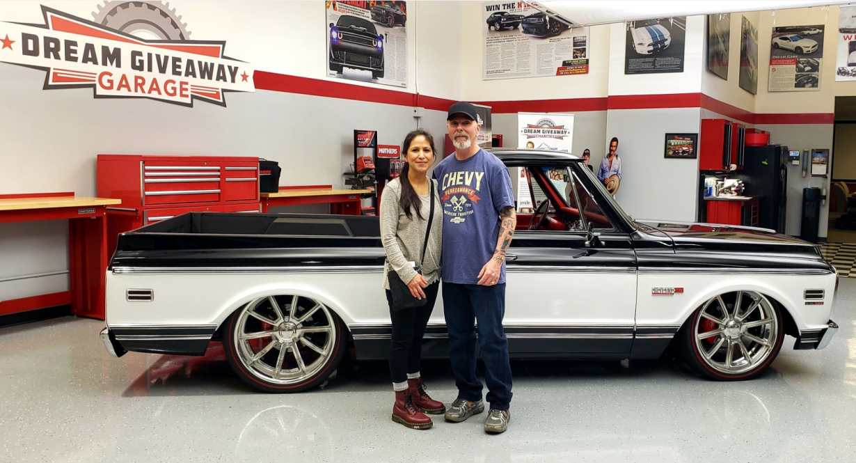 Chevy C-10 Dream Giveaway Winner Kevin Oxford
