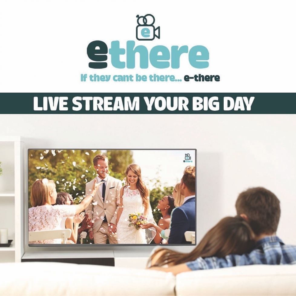 e-there helps couples live stream weddings