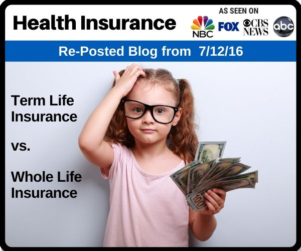 Term Life Insurance vs. Whole Life Final Expens...