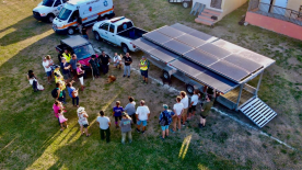 Footprint Project Mobile Solar Trailer