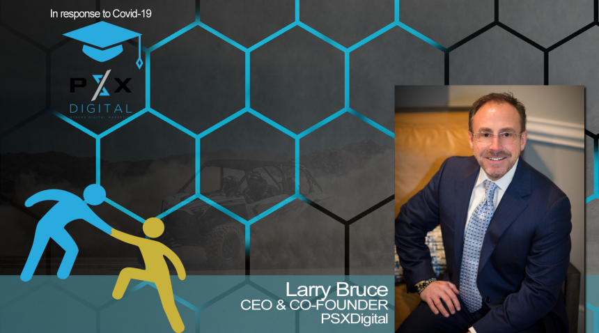 CEO & CO-Founder, Larry Bruce