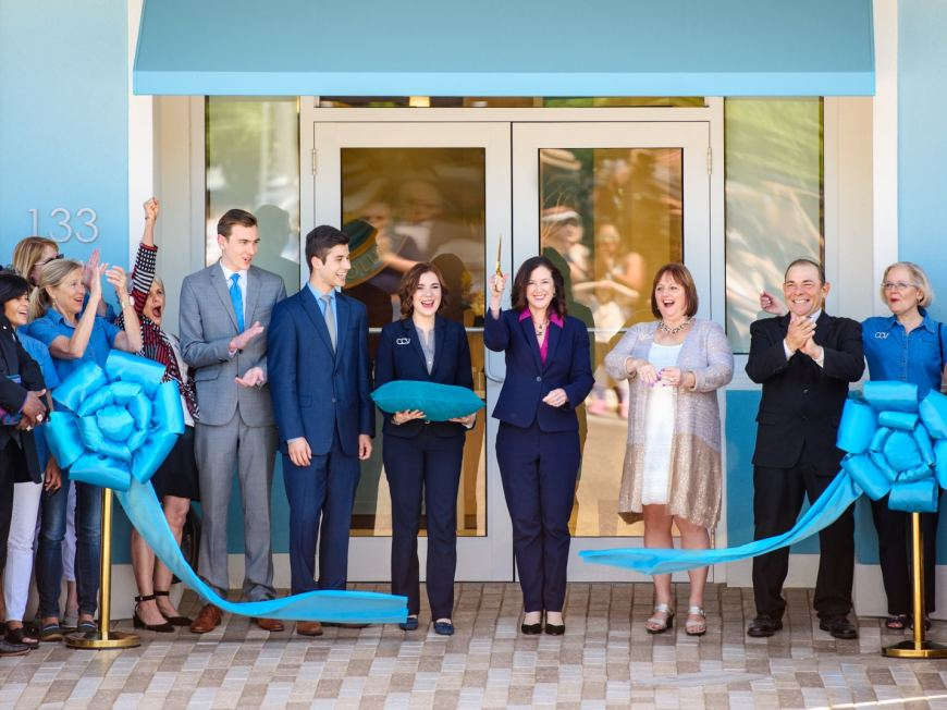 Clearwater Community Volunteers Center Ribbon Cut