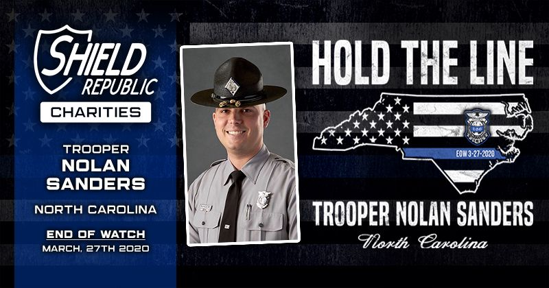 Shield Republic Trooper Nolan Sanders Fundraiser