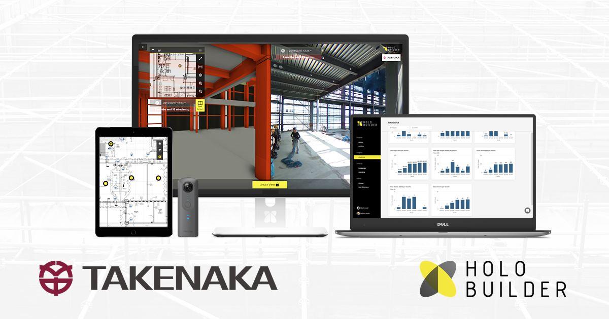 HoloBuilder and Takenaka deepen their partnership