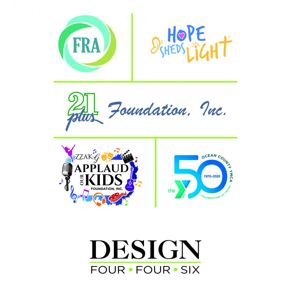 Design 446 helps nonprofits deliver their message.