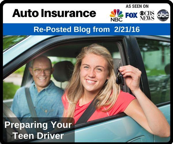 Preparing Your Teen Driver...