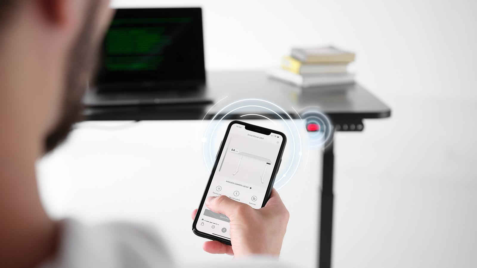 Control wirelessly