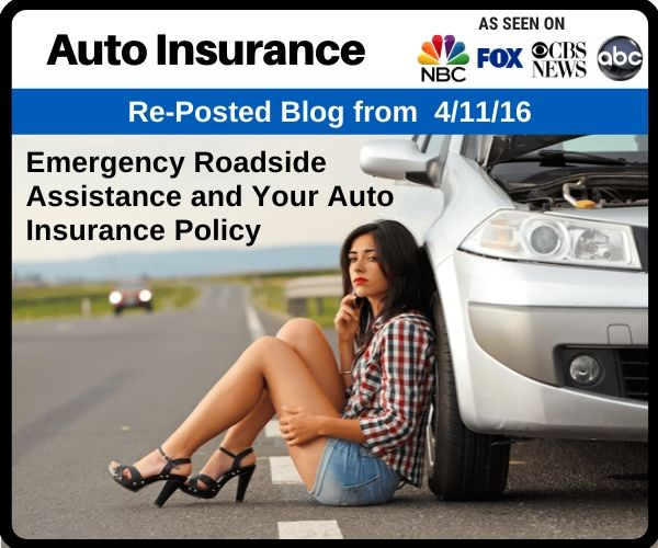 Emergency Roadside Assistance and Your Auto Ins...
