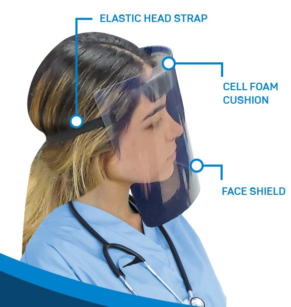 Tru-Form Plastics Face Shield