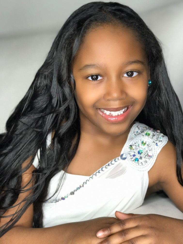 Tiarah Williams is Little Miss North America 2020