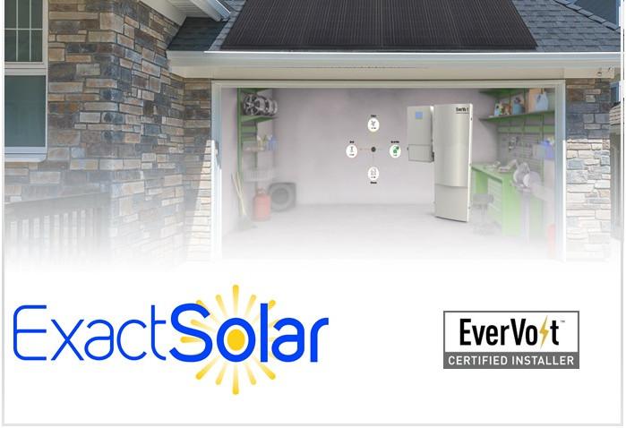 Exact Solar a Certified EverVolt Installer