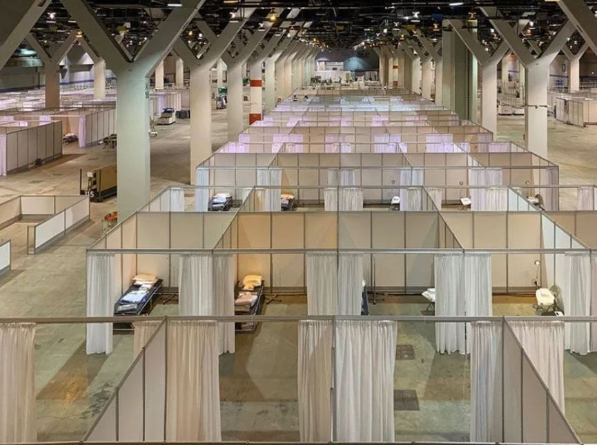 Jeron used at McCormick Place's Temporary Facility