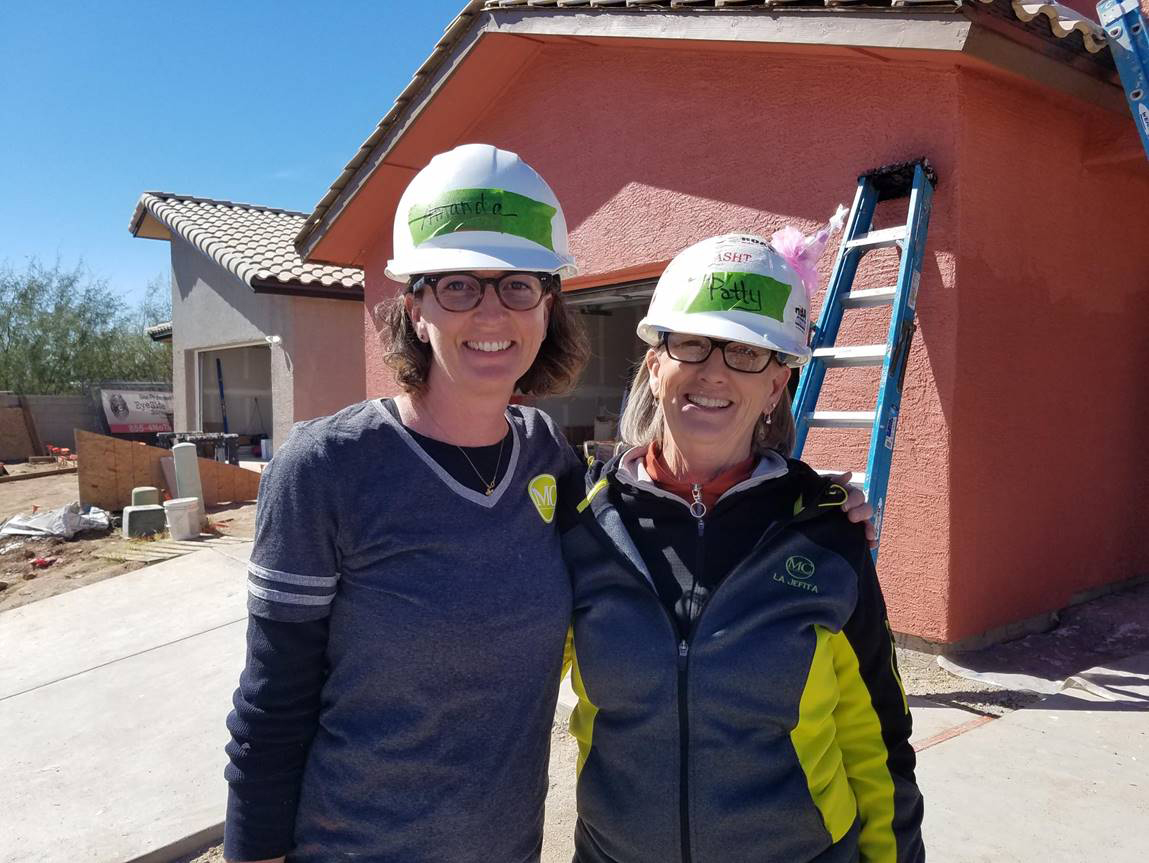 Volunteering at Habitat for Humanity - Southern AZ