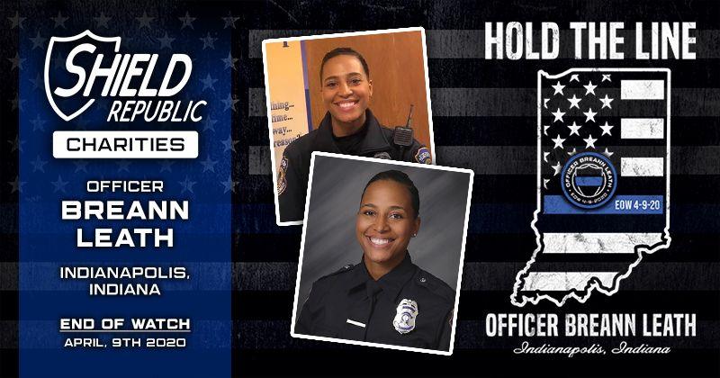 Shield Republic Officer Breann Leath Fundraiser