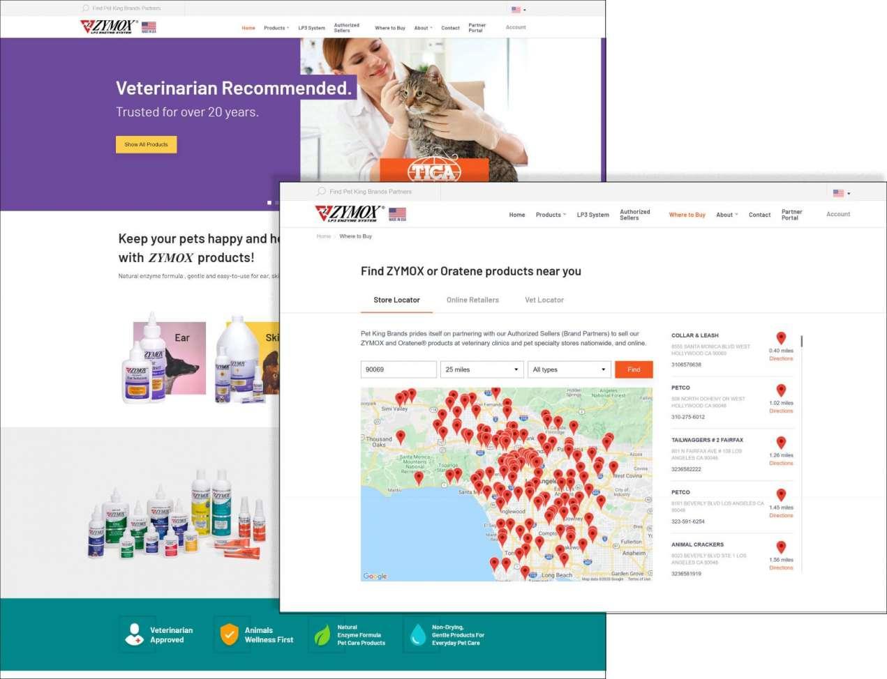 New Website for zymox.com