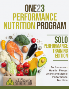 One23 Performance Nutrition Program eBook - Cover