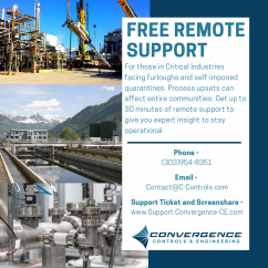 Free Remote Support by Convergence Controls
