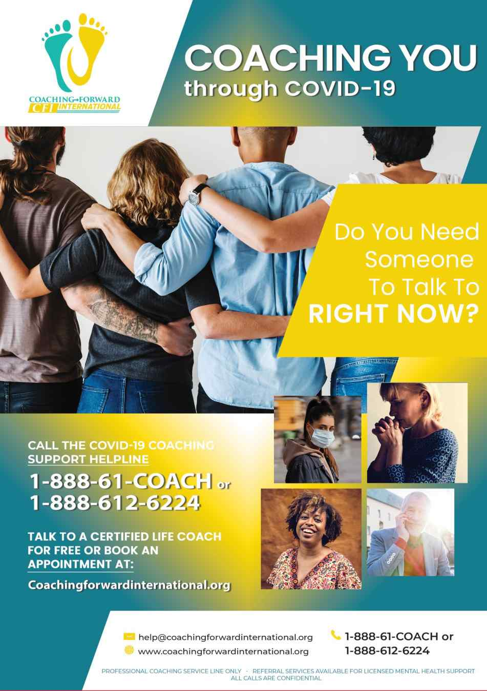 National COVID-19 Coaching Support Helpline