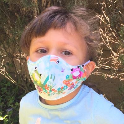 Garment Saver Child Cloth Mask-print