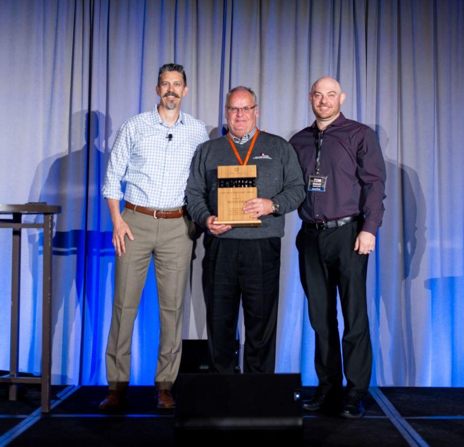Carl Muehlemeyer, Doug Fair and Tom Bradley