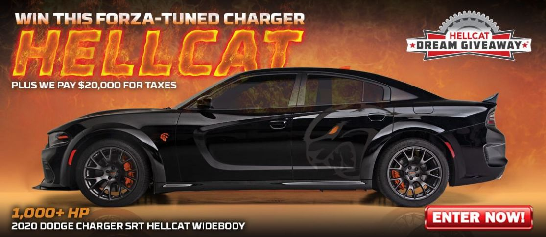 2020 Dodge Charger Dream Giveaway