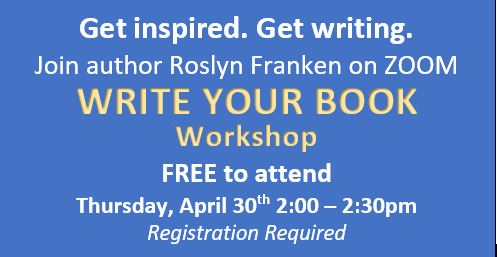Write Your Book ZOOM Workshop