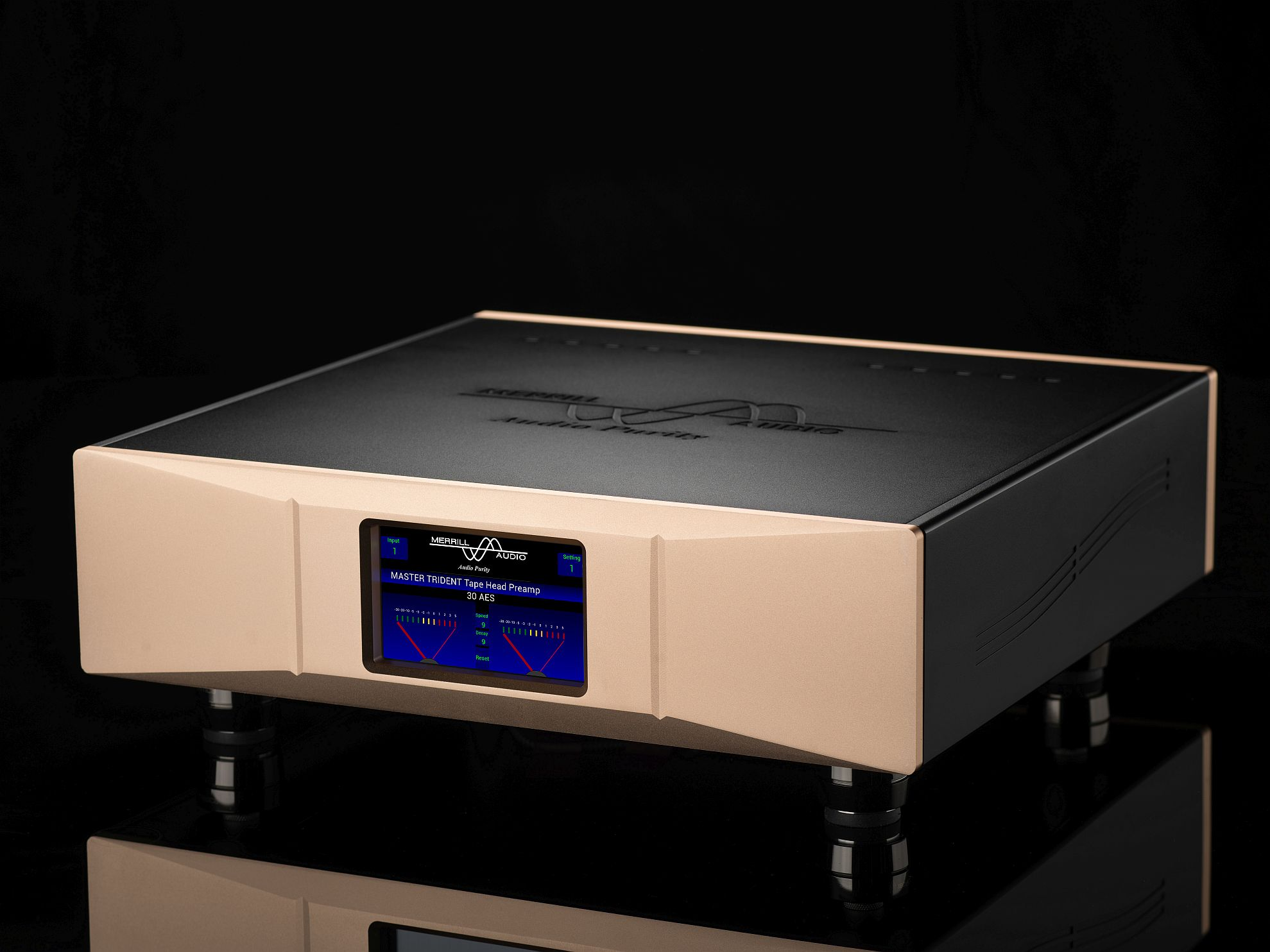 Master Trident Tapehead Preamp Rightfront 1