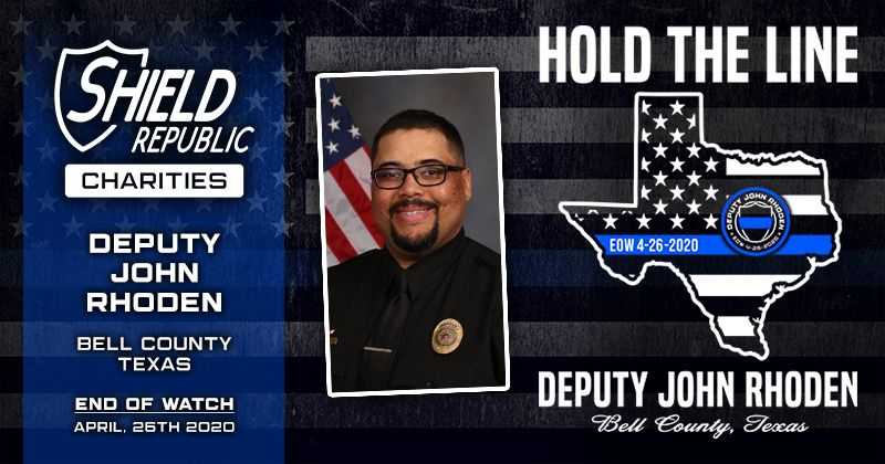 Shield Republic Deputy John Rhoden fundraiser