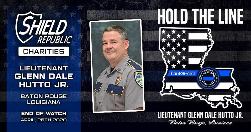 Shield Republic Fundraiser Sergeant Hutto BRPD