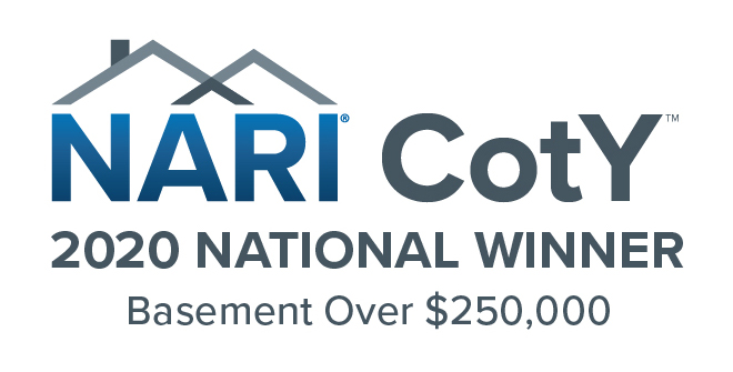 NARI 2020 Coty Basement Over 250k National Winner