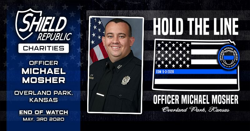 Shield Republic OPPD Michael Mosher Fundraiser