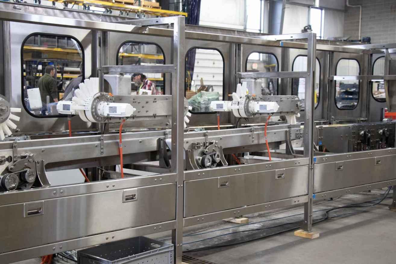 Custom conveyor systems