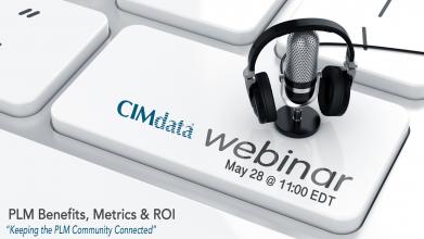 CIMdata webinar for May