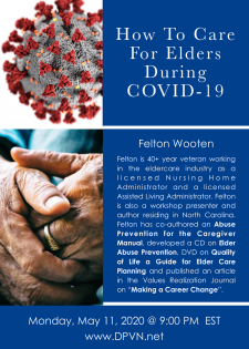 Felton Wooten on Eldercare and COVID-19