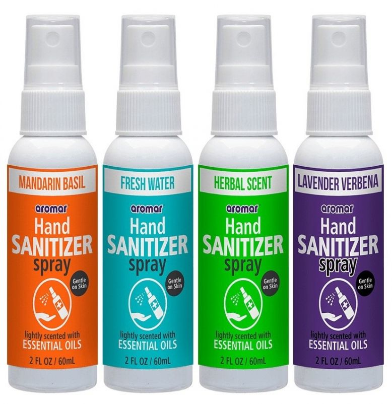 Hand Sanitizer with Spray Application