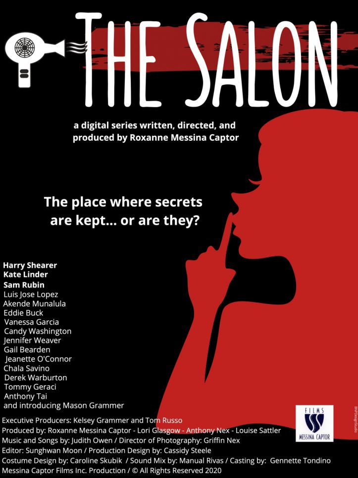 The Salon Digital Series Poster Official