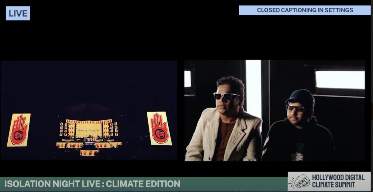 A.R. Rahman Performance at #Climatechella