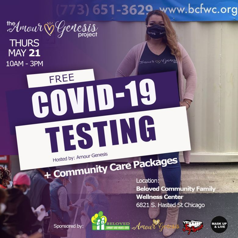 The Amour Genesis Project Free Covid-19 Testing