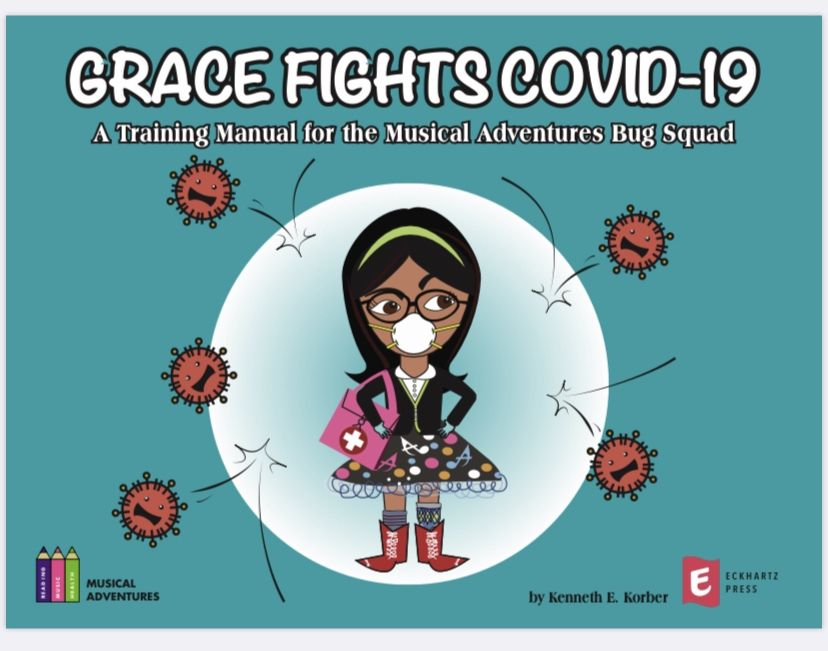 Grace Fights COVID-19 Front Cover