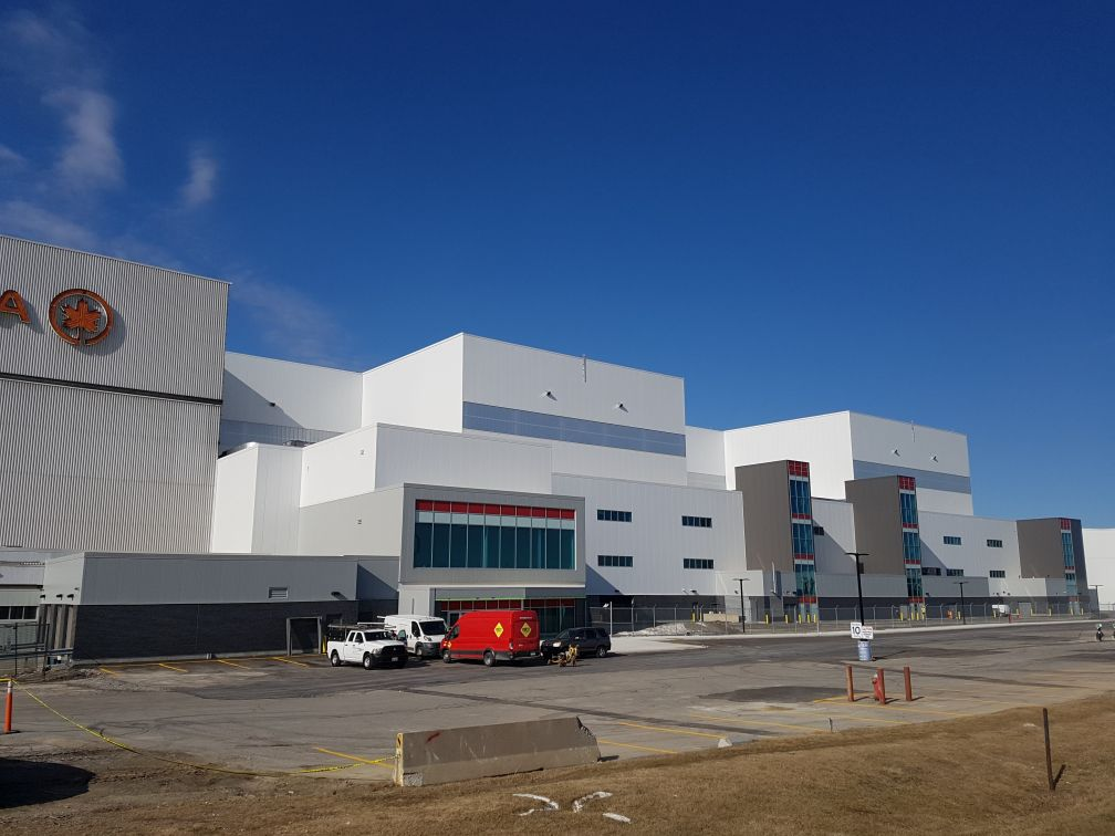 Air Canada Hangar 5, Photo by Doug Hood